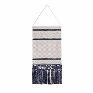 Other - Woven Cotton Tapestry with Tassel Fringe